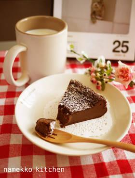 ●しっとり濃厚♥炊飯器でガトーショコラ●