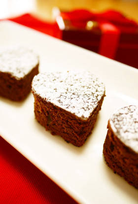 バレンタイン♥フライパンでガトーショコラ