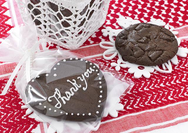 ハート&ダブルチョコクッキー