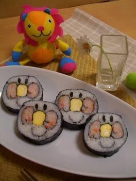 にっこりアンパンマン巻き寿司♪節分に♪ by あずみん25 [クックパッド] 簡単おいしいみんなのレシピが258万品 (781)