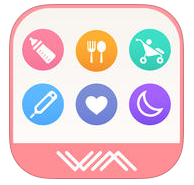 かんたん育児記録: 育ログ WMを App Store で (1458)