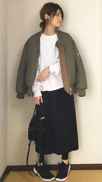 GUのスポーツスニーカーコーデ♡|MAMA STYLE♡毎日が楽しみになるコーデ♡ (1638)
