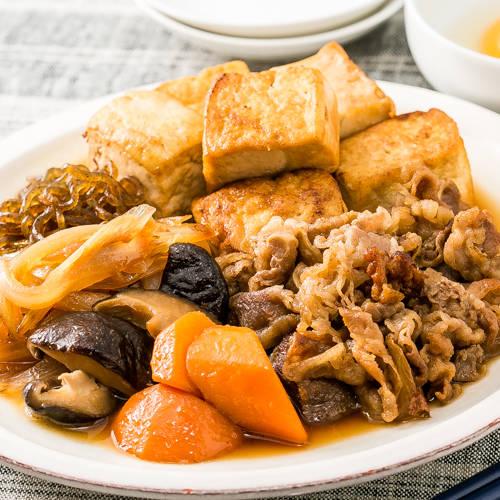 牛肉と豆腐のすき煮キット-ローソンフレッシュ|ローソンのネットスーパー・通販 (1978)