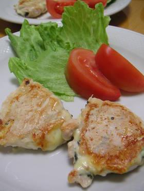 鶏ささみのしそ&チーズはさみ焼き by Mayumi♪ [クックパッド] 簡単おいしいみんなのレシピが259万品 (3833)