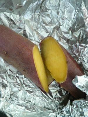 フライパン1つでできる、焼き芋!
