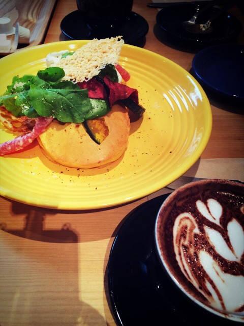 RH cafeにランチをしに行ってきました