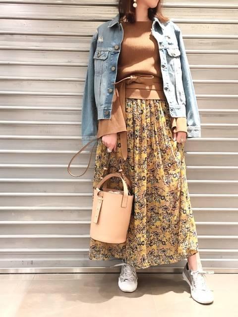 DouDou_hanae(DouDou 福岡天神店)|DouDouのデニムジャケットを使ったコーディネート - WEAR (4635)