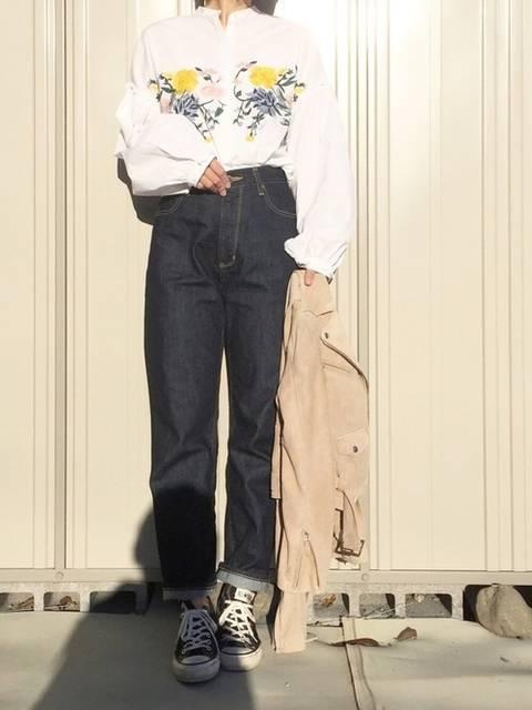 k c o ◡̈♥︎|ZARAのシャツ・ブラウスを使ったコーディネート - WEAR (4673)