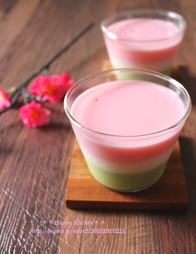 おひな祭りに*冷やす時間不要の3色ムース、と薔薇の苺ヨーグルトムース|たっきーママ オフィシャルブログ「たっきーママ@happy kitchen」Powered by Ameba (4734)
