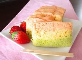 ひな祭りに♡HMで簡単3色蒸しパンケーキ by Marrietty [クックパッド] 簡単おいしいみんなのレシピが260万品 (4748)