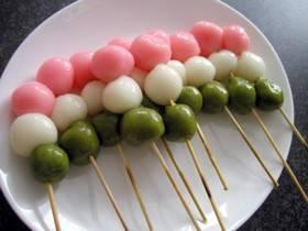 ひな祭りに3色団子! by おこげごはん [クックパッド] 簡単おいしいみんなのレシピが260万品 (4764)