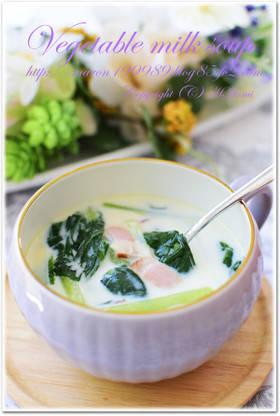 野菜嫌い克服☆子供大好き簡単ミルクスープ