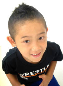 男の子・キッズの髪型まとめ【ツーブロック・ソフトモヒカン・ショート・アシメ】に投稿された画像No.8 | Pinky (5890)
