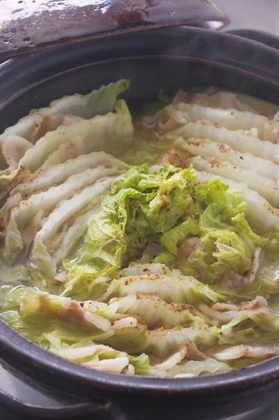 豚バラと白菜のミルフィーユ鍋に!!!