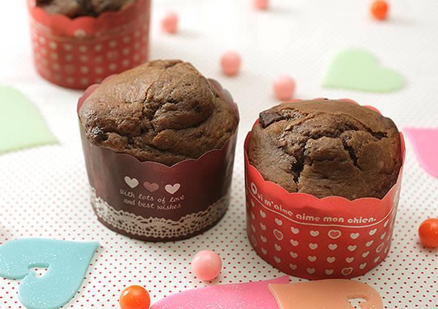 チョコチップマフィン | 天使のお菓子レシピ | 森永製菓株式会社 (7472)