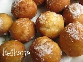 ホットケーキミックスと牛乳だけでドーナツ by keikana  [クックパッド] 簡単おいしいみんなのレシピが261万品 (7487)