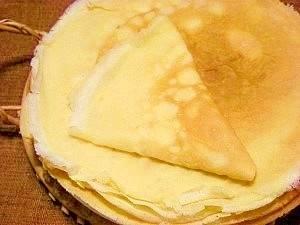 ホットケーキミックスで☆クレープ作ろう♪ レシピ・作り方 by ブルーボリジ|楽天レシピ (7497)