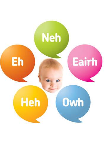 Dunstan baby language (DBL)...