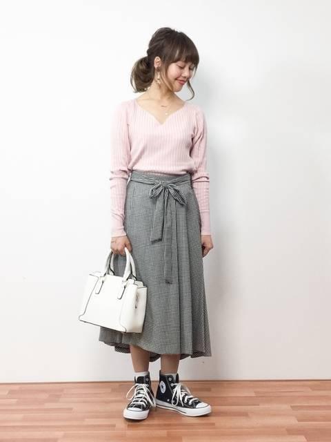 ZOZOTOWN内山陽菜さんのニット/セーターを使ったコーディネート - ZOZOTOWN (8357)
