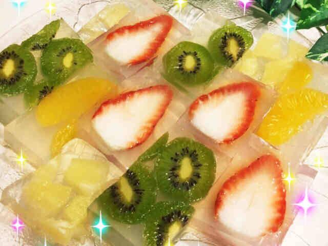 季節の果物や缶詰を使った、アレンジ自在ヘルシーデザート...