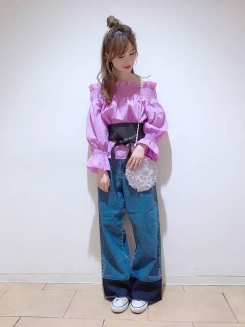 one after another NICE CLAUPRikako   Saitoさんのシャツ/ブラウスを使ったコーディネート - ZOZOTOWN (9323)
