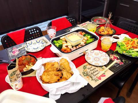 クリスマス。ゲストは3人。|秋田川反 優楽里ママ(非)日常。思い切って「ツマラナイ女」になろう。 (9480)