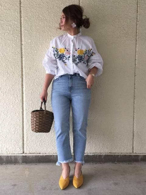 makiki|ZARAのシャツ・ブラウスを使ったコーディネート - WEAR (9841)