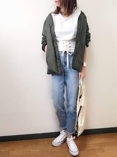 s.|UNIQLOのミリタリージャケットを使ったコーディネート - WEAR (10069)