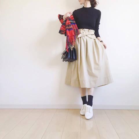 Code♡UNIQLO新作フレアスカート♡ノスチェックスカート再販!|yonnieのブログ**おしゃれもキレイも。欲ばりワーママ宣言** (10887)