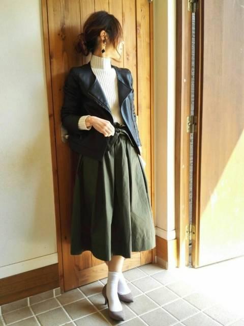 mmmm ☆|UNIQLOのスカートを使ったコーディネート - WEAR (10893)
