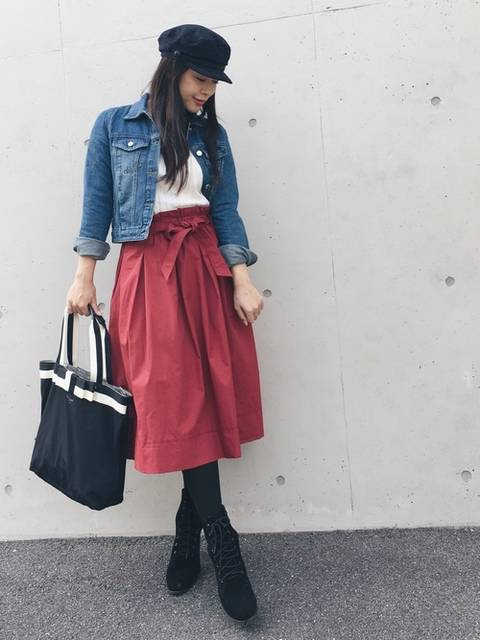miyaco|UNIQLOのスカートを使ったコーディネート - WEAR (10898)