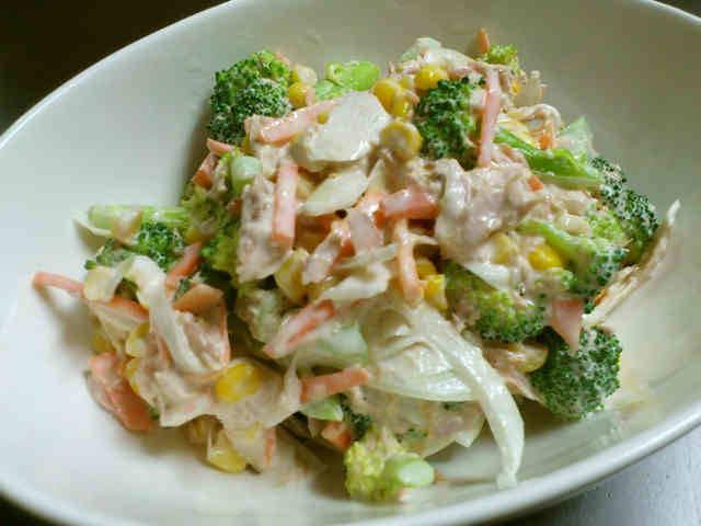 デパ地下の味!ブロッコリーとツナのサラダ by くまみよ [クックパッド] 簡単おいしいみんなのレシピが262万品 (11008)