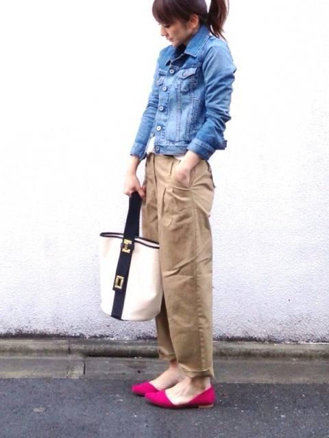 LUMIE|TODAYFULのデニムジャケットを使ったコーディネート - WEAR (12043)