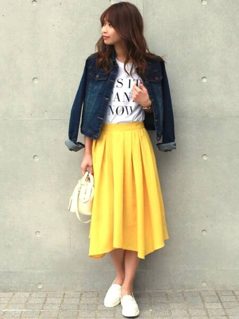Emi Kinjo(STYLE DELI)|STYLE DELIのスカートを使ったコーディネート - WEAR (12756)