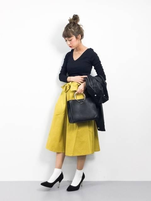 tera(ZOZOTOWN)|URBAN RESEARCH Sonny Labelのスカートを使ったコーディネート - WEAR (12759)