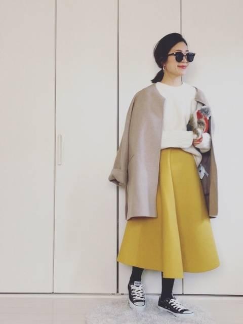 yumi_mama|ZARAのジャケット/アウターを使ったコーディネート - WEAR (12769)