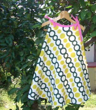 c889fab235673 手作り簡単子供服「4分の1円ワンピース」「バンダナでワンピ」&「簡単 ...