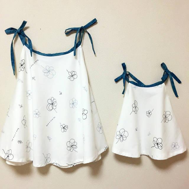 f9261a5edfa5b 手作り簡単子供服「4分の1円ワンピース」「バンダナでワンピ」&「簡単 ...