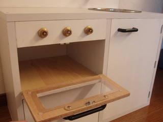 カラーボックスで手作りままごとキッチン 完成! - カラーボックスで手作りままごとキッチン (16962)