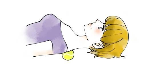 テニスボールマッサージが肩こり・腰痛に効く!痩せ効果も! | 女性の美学 (18137)
