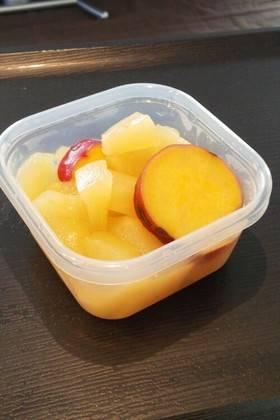 離乳食に☆さつまいもとりんごの甘煮