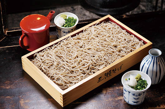そば|食べる|佐賀市三瀬村の自然豊かな高原 - みつせ高原 (22120)