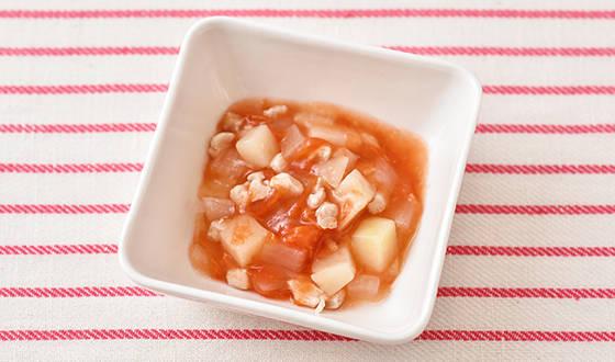 チキンのトマト煮(離乳食9~11ヵ月頃)