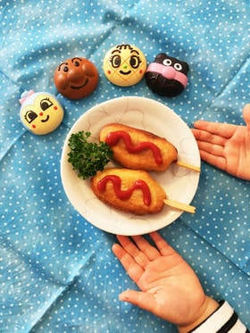 簡単!ミニミニアメリカンドッグ☆HM使用 by ♡LLmama♡ [クックパッド] 簡単おいしいみんなのレシピが265万品 (24618)