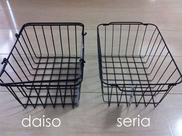 ダイソー&セリアのワイヤーバスケット。それと購入品 きなこ丈な暮らし。 (24889)