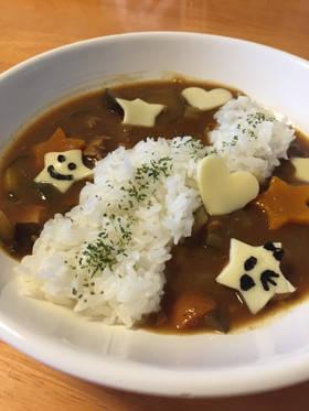 七夕に☆夏野菜の天の川カレー