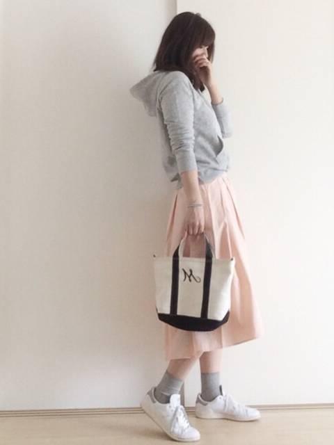 mei|GUのスカートを使ったコーディネート - WEAR (25200)