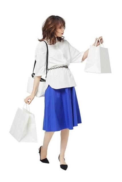 ジーユー|イージーカラースカート|WOMEN(レディース)|公式オンラインストア(通販サイト) (25318)