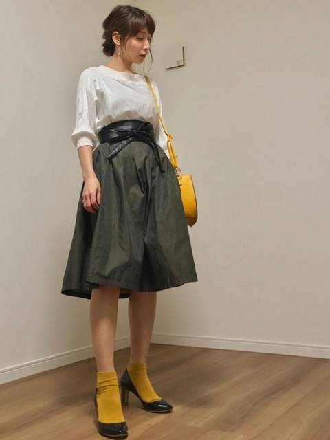 ai♡|SENSE OF PLACE by URBAN RESEARCHのスカートを使ったコーディネート - WEAR (25887)