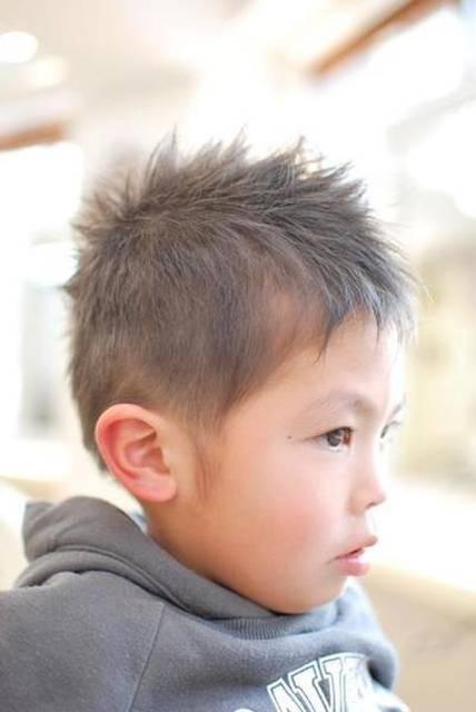 男の子のおしゃれな髪型満載!2015キッズヘアカタログ